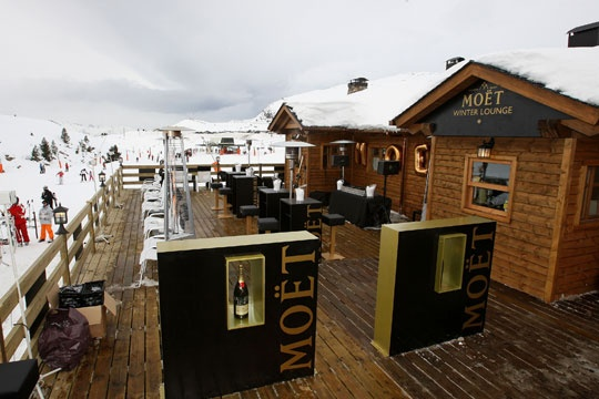 Moet Winter Lounge Baqueira