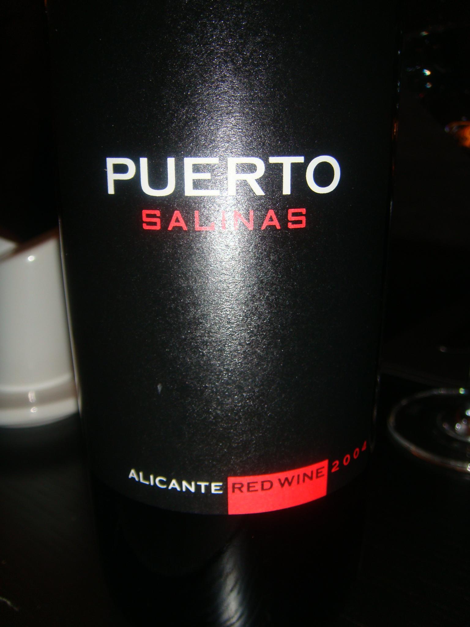 Vino Puerto Salinas 2004